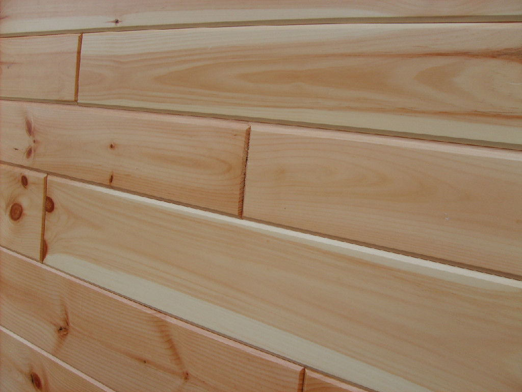 End Matched White Pine T G