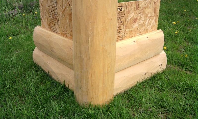 Gv Wood Products Log Trim And Corners