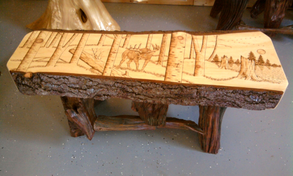GV Wood Products - Log and Rustic Furniture